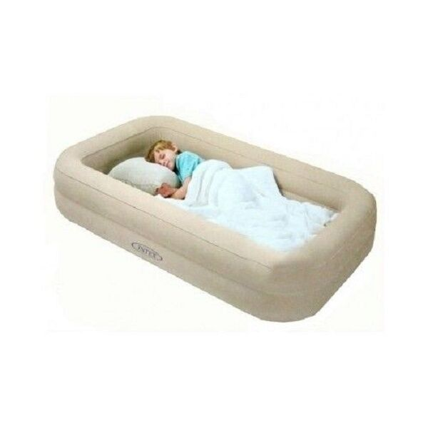 Kids Travel Bed Inflatable Portable Folding Toddler Air Mattress Child Spare Cot Ebay