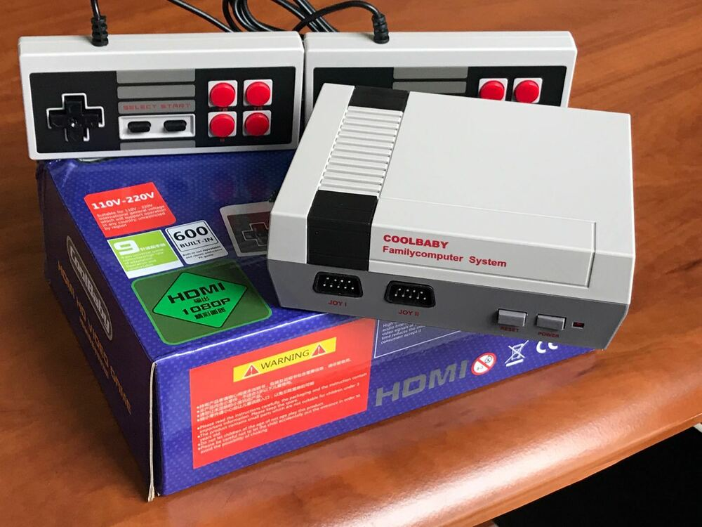 Classic Family Video Console NES Console HDMI Built In