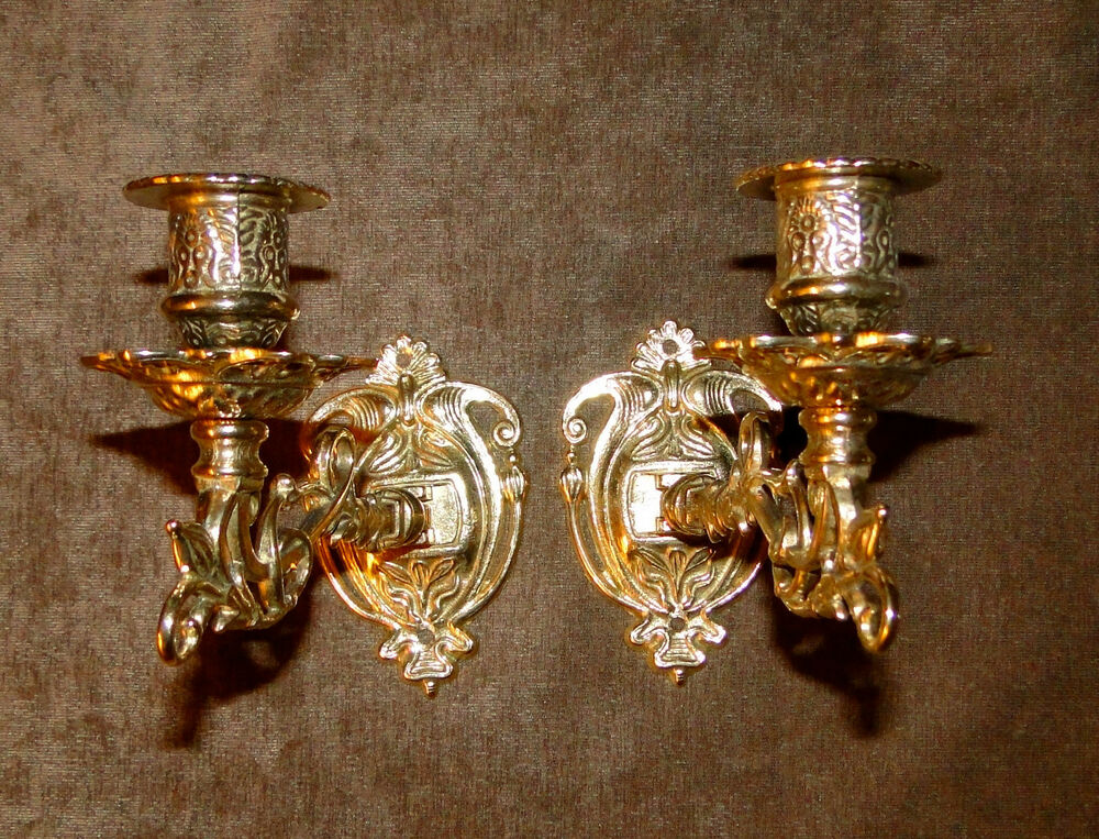 Antique Wall Mounted Candle Holder,Wall Light, Piano ... on Wall Mounted Candle Holder id=83275