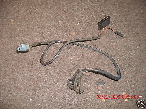 1970 FORD MUSTANG 6 CYLINDER ALTERNATOR WIRING HARNESS