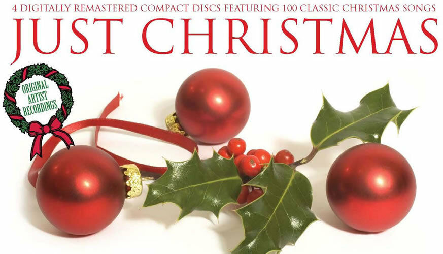 The Just Christmas Collection Of 4 CD Xmas Music Songs EBay