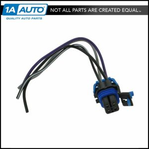 Fuel Pump Wiring Harness with Square Connector 4 Wire