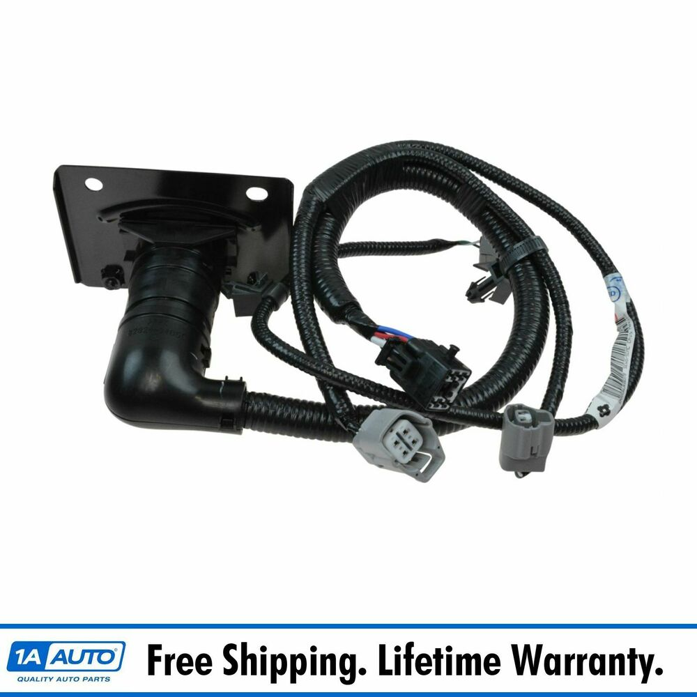 Oem Trailer Tow Hitch Wiring Harness 7 Pin Connector For