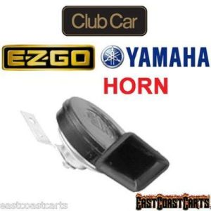 Golf Cart 12 volt HORN Universal Club Car, EZGO, Yamaha