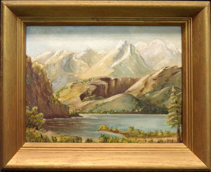 Mitchell Original Oil Painting Mountain Hand Signed Make An Offer EBay