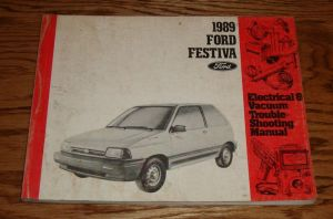 1989 Ford Festiva Electrical & Vacuum Troubleshooting