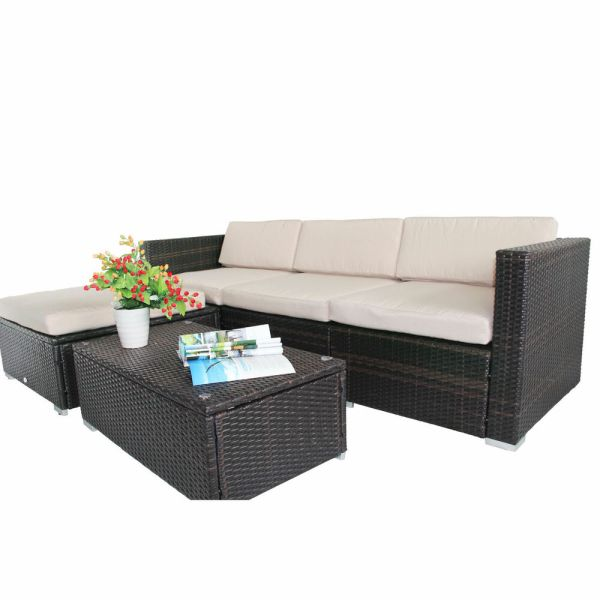 wicker patio furniture cushions Rattan Garden Wicker Furniture Cushion Cover Replacement