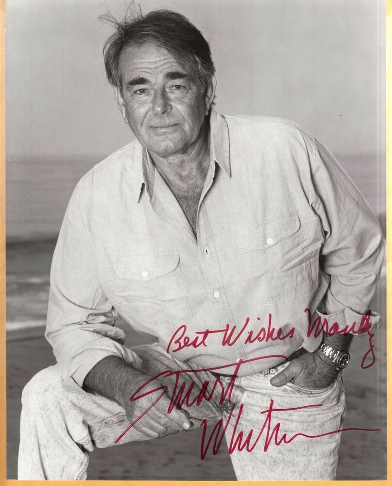 Stuart Whitman Signed Photo 28 A EBay