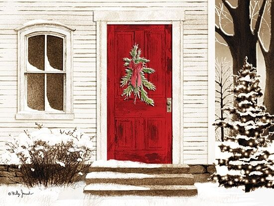 Art Print Framed Or Plaque By Billy Jacobs Red Door