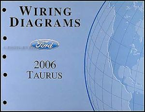 20062007 Ford Taurus Wiring Diagrams Manual Original OEM