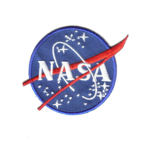 NASA US Space Agency Logo Embroidered Patch, NEW UNUSED | eBay