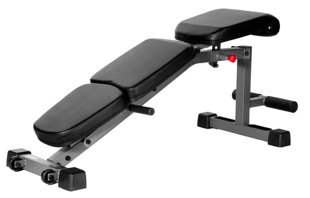 Xmark Adjustable Fid Flat Incline Decline Dumbbell Weight