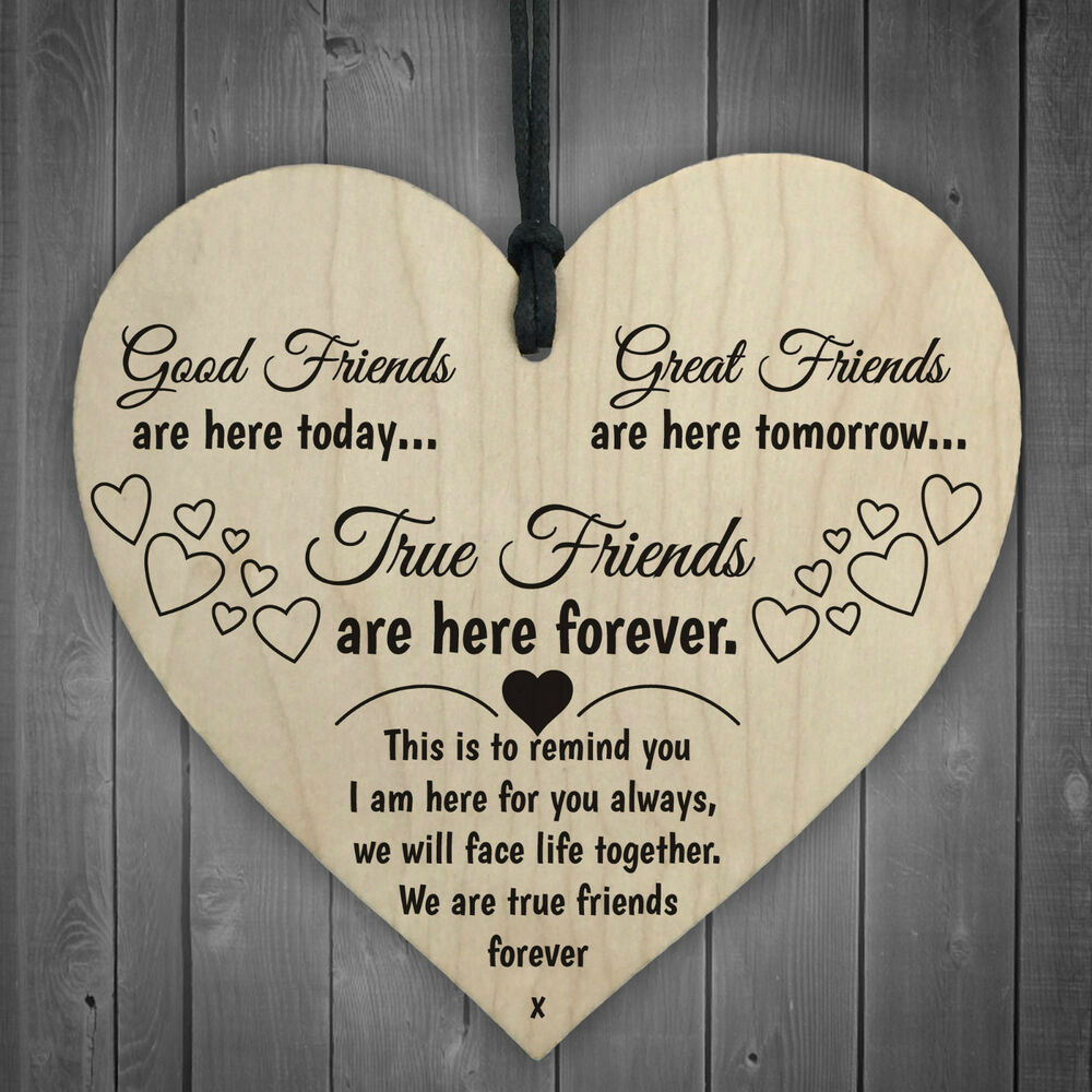 Good Friends Plaque Sign Best Friend Gift Shabby Chic