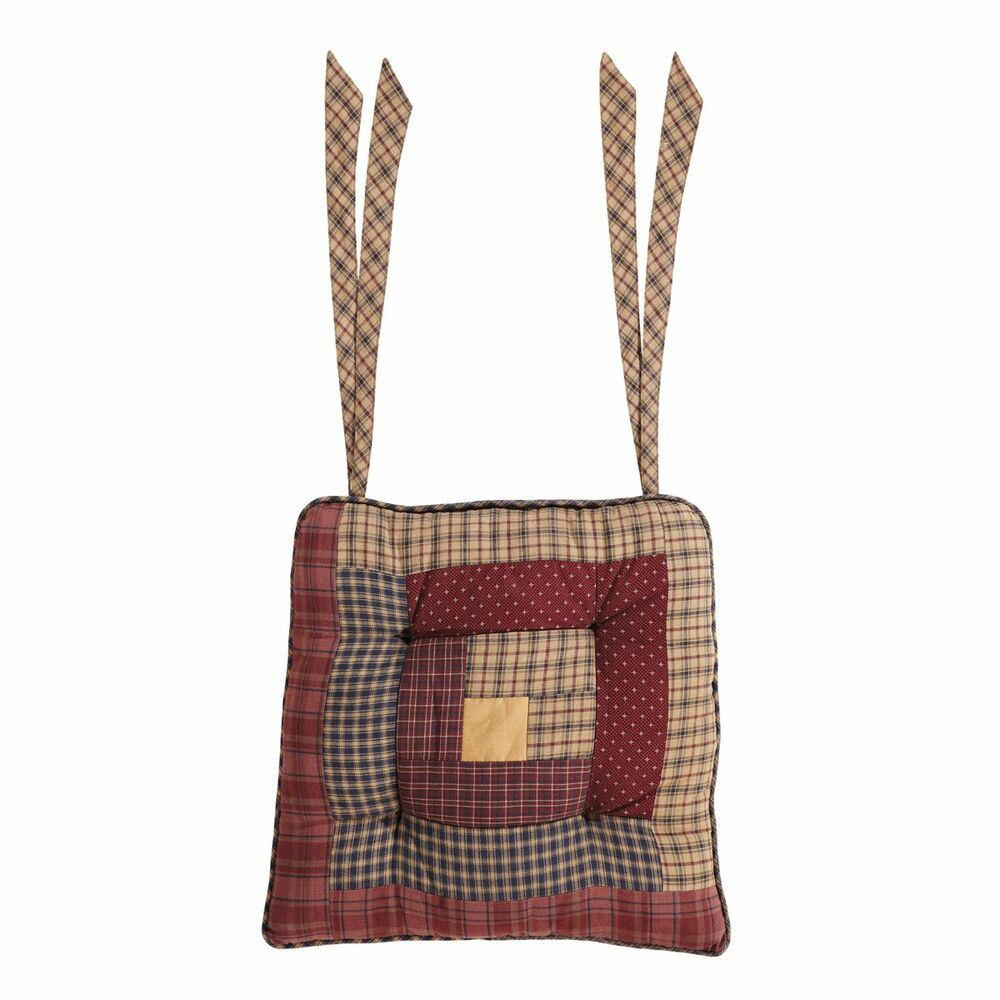 New Country Primitive Navy Wine Tan AMERICANA PATCHWORK