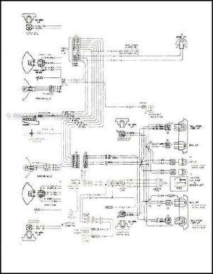 1978 Malibu Classic and Monte Carlo Wiring Diagram 78