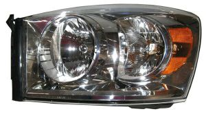 New Replacement Headlight Assembly LH  FOR 200708 DODGE