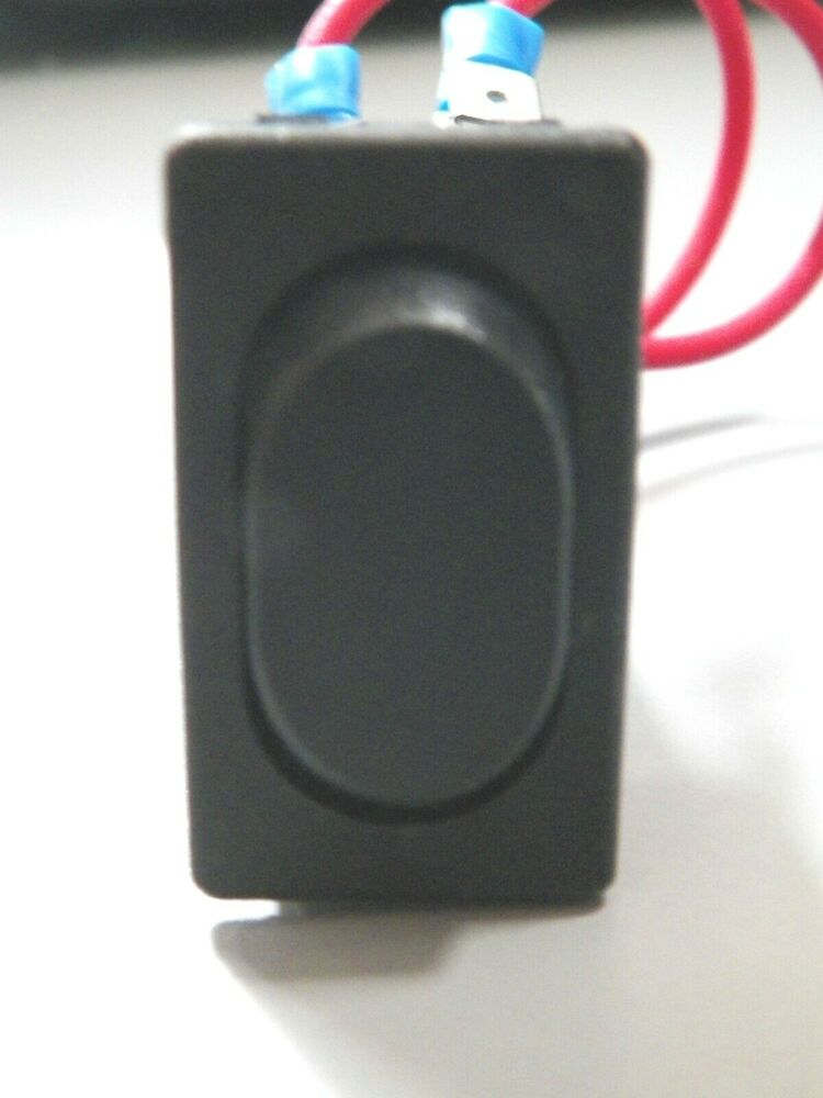 New Rv On Off On Momentary Rocker Switch Black 6 Prong