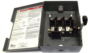 30 AMP 3 Phase Disconnect Switch Square D DSSQD341 | eBay