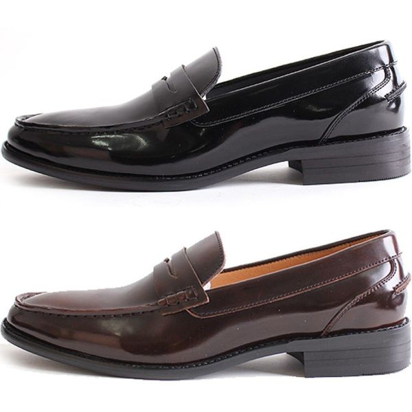 New Mooda Penny Loafer Classic Dress Casual Mens Formal ...