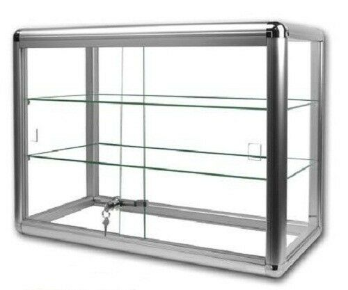 GLASS COUNTERTOP DISPLAY CASE STORE FIXTURE BOUTIQUE
