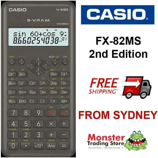 AUSSIE SELLER CASIO SCIENTIFIC CALCULATOR FX82 FX-82MS FX ...