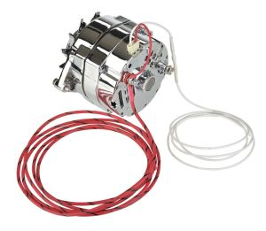 12 Volt Chrome Alternator GM 10Si 100 Amps 1 or 3 wire Connection | eBay