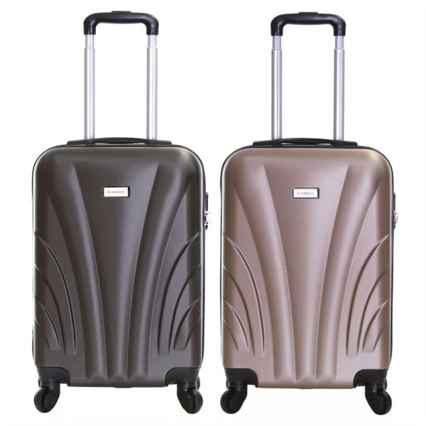 Ryanair 55 cm Hard Cabin Approved Spinner Trolley Hand ...