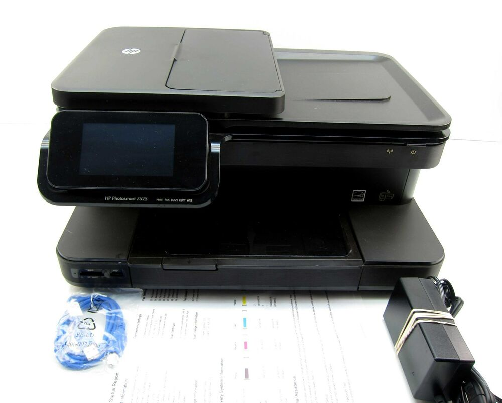 Hp Photosmart Home Premium 7525 All In One Printer Copier