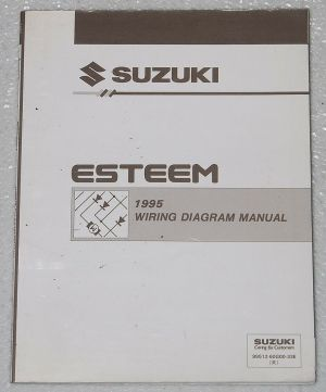 1995 SUZUKI ESTEEM Electrical Wiring Diagrams Factory Shop