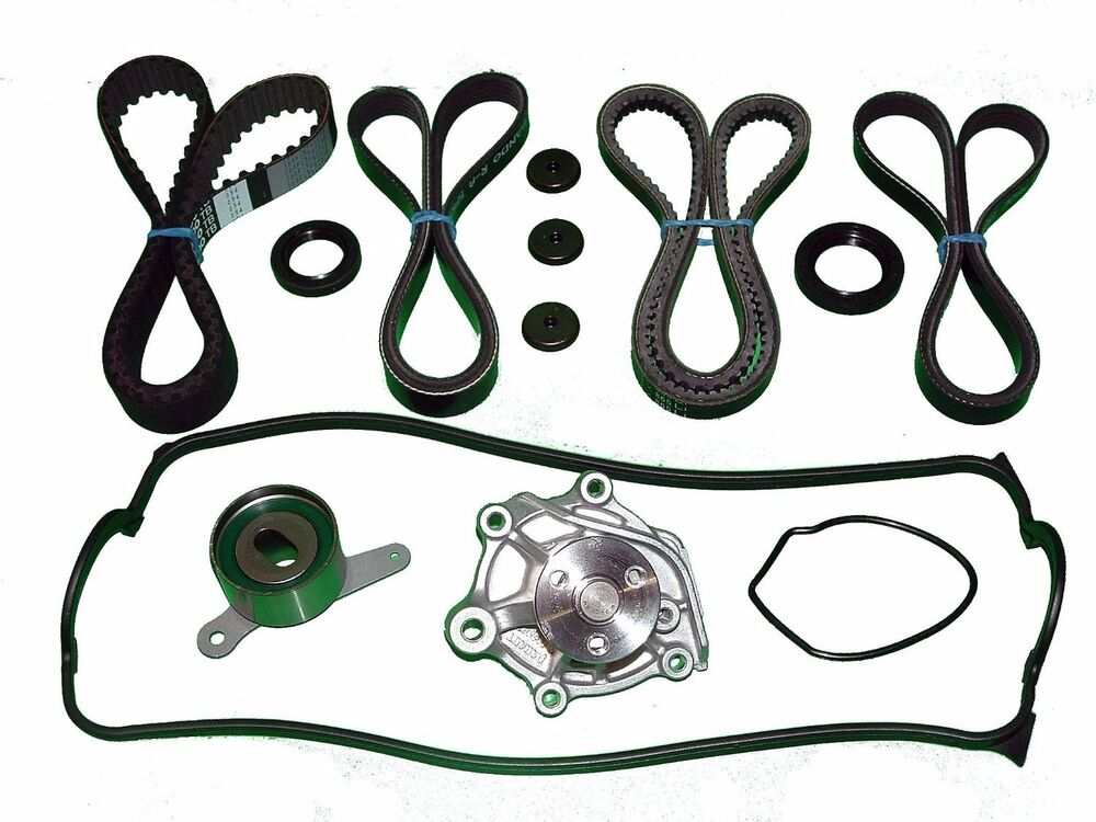 Timing Belt Water Pump Kit Seals Valve Cover Gasket Set