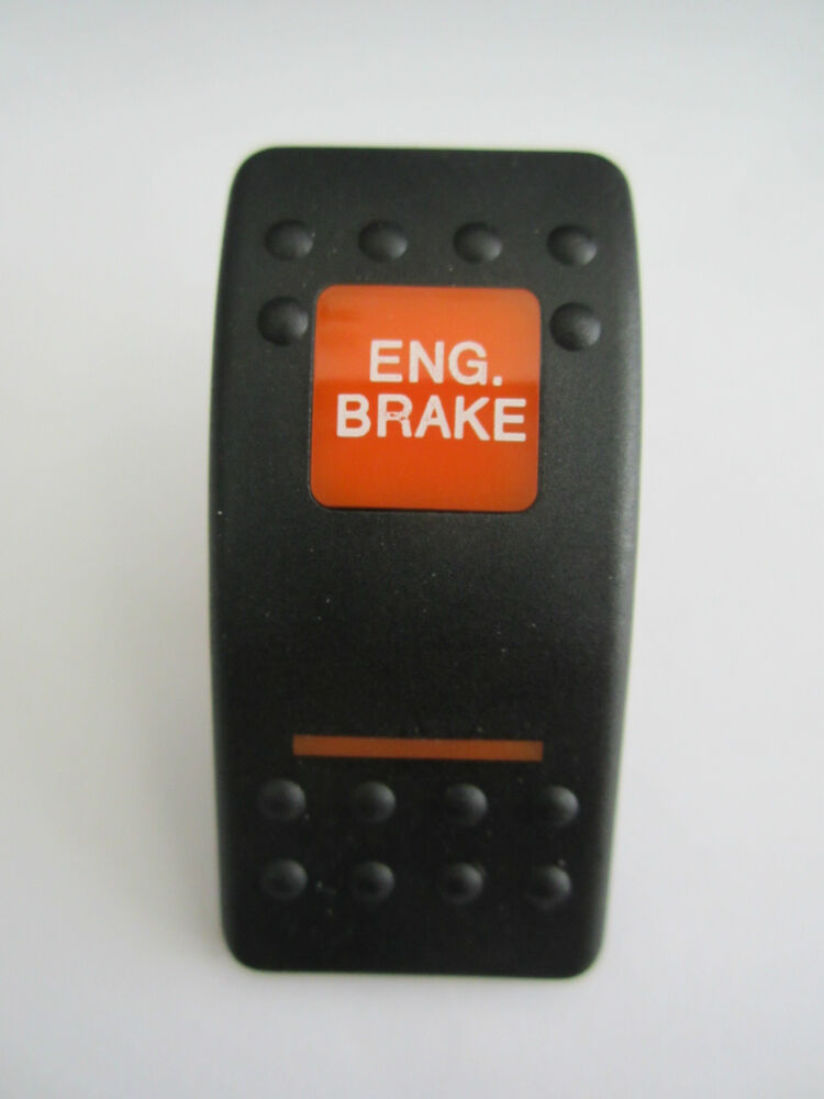 New Carling Actuator Rocker Switch Cover Engine Brake