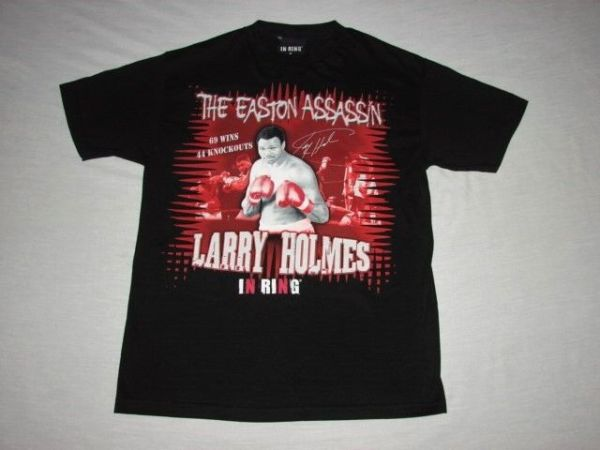 Larry Holmes The Easton Assassin Boxing Shirt Size M In ...