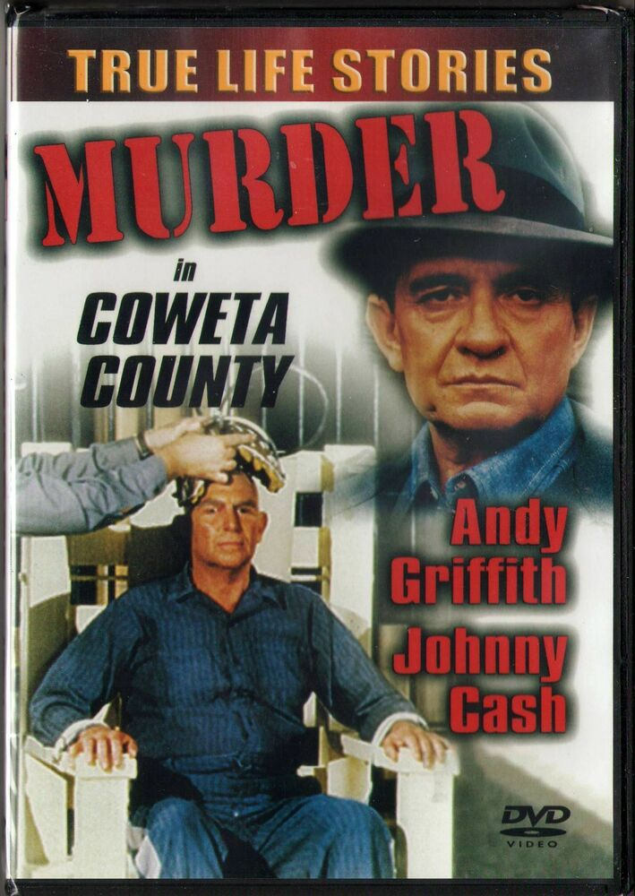 Murder In Coweta County DVD 2001 Andy Griffith Johnny Cash BRAND NEW 84296402908 EBay