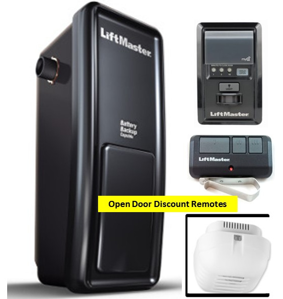 8500 LiftMaster Elite Series myQ Equipped Wall Mount ... on Liftmaster Wall Mount  id=46368