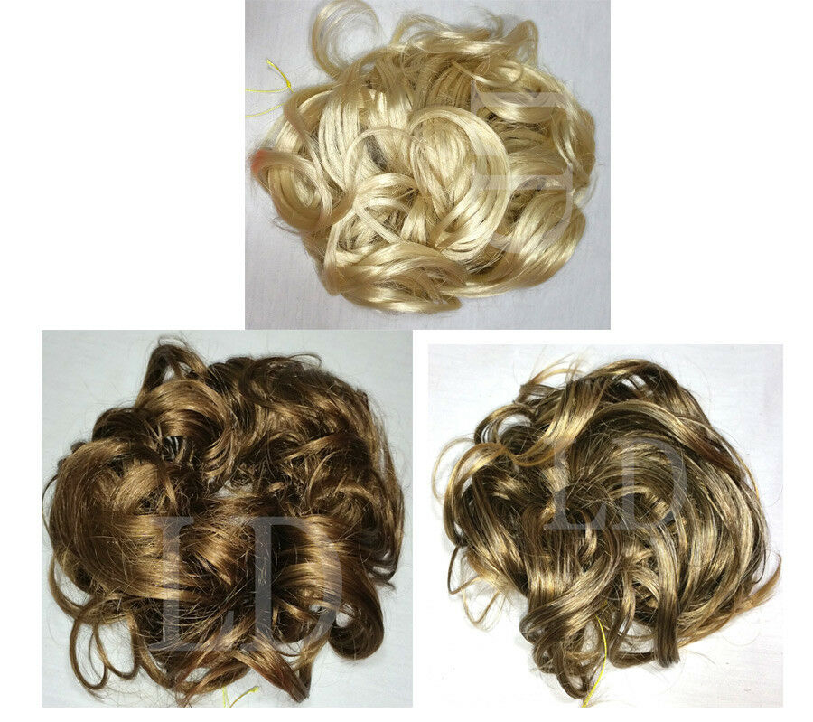 Scrunchie KATIE 7 Long Curly Hair Ponytail Holder