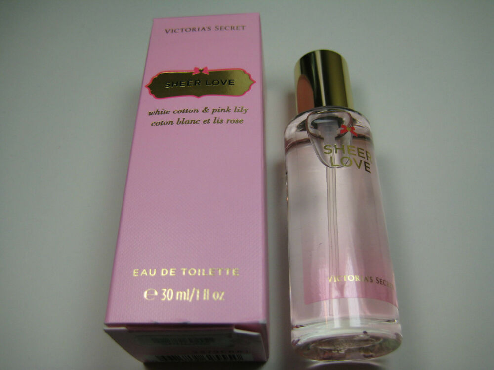 Victorias Secret SHEER LOVE Perfume Eau De Toilette 1oz Bottle DISCONTINUED EBay