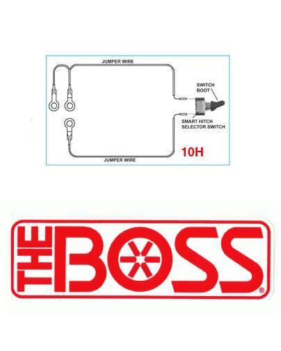 Boss Snow Plow Smart Hitch 2 Toggle Switch W Connectors