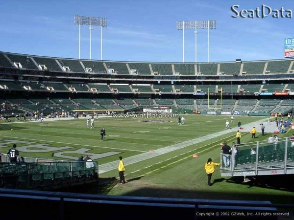 2 tickets SD CHARGERS OAKLAND RAIDERS Front Row 2017