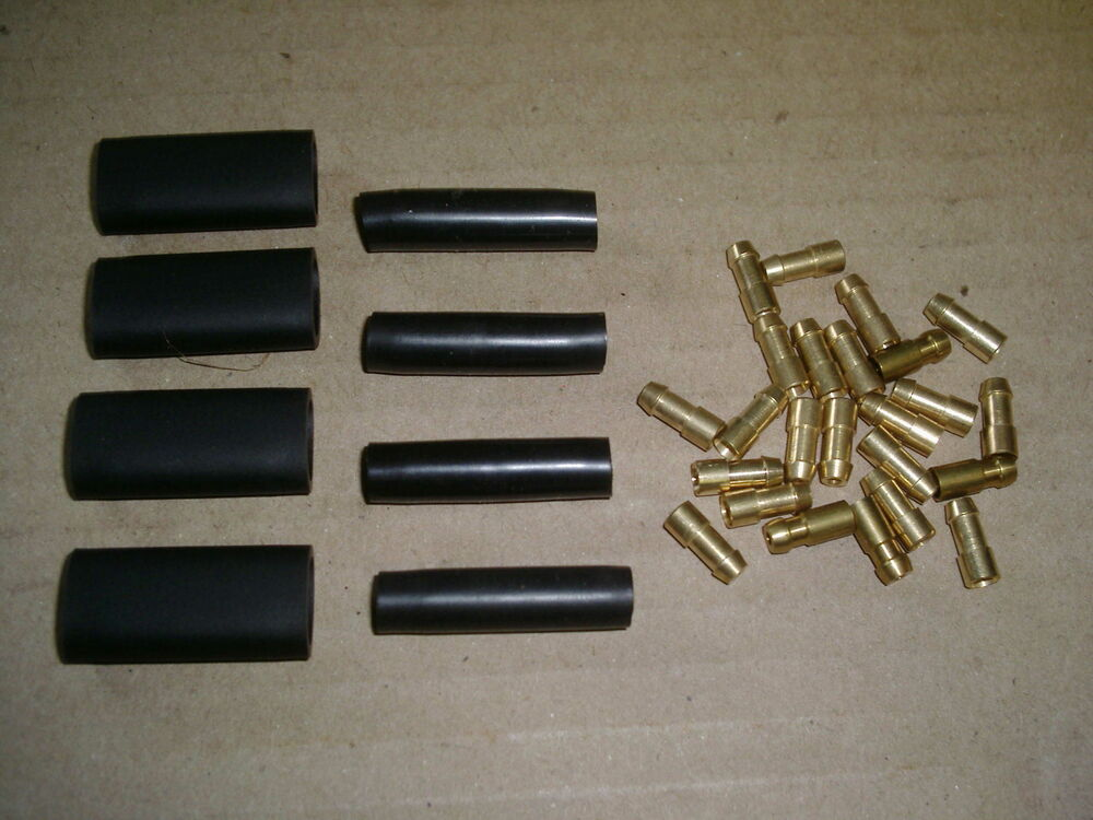 ELECTRICAL BRASS BULLETS & CONNECTORS FOR CLASSIC CAR BIKE