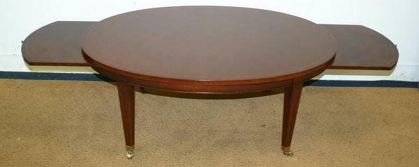 Antique STYLE TRADITIONAL MAHOGANY W Tray Tables Inlaid