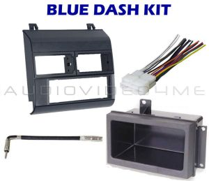 Chevy GMC Pickup Truck 8894 BLUE Radio Dash Kit Combo C K