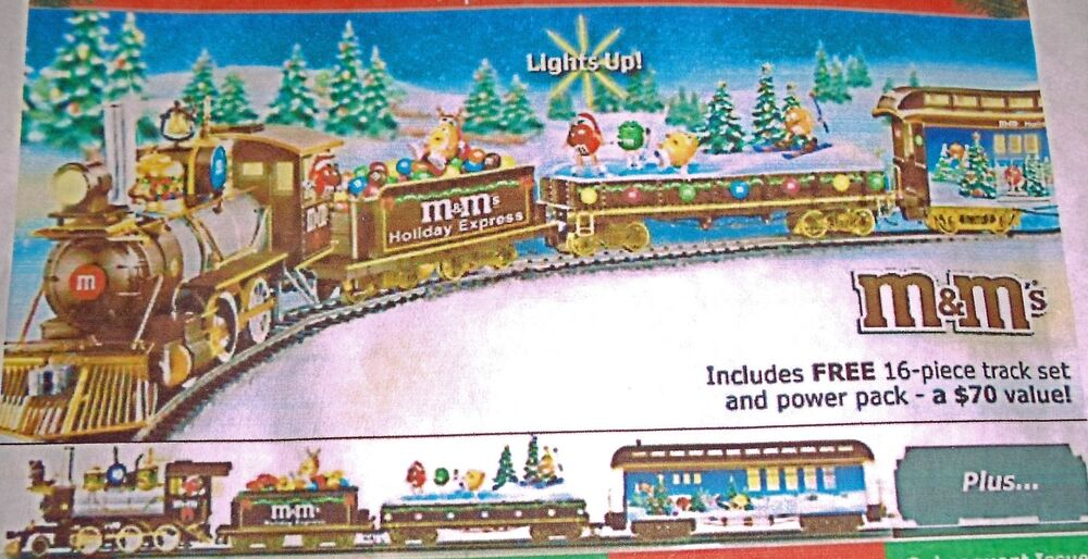 MampM ELECTRIC TRAIN COLLECTION ON30 SCALE HOLIDAY EXPRESS