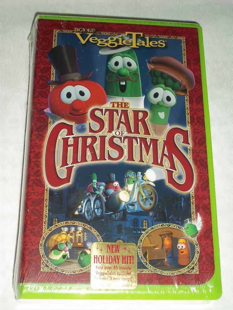 Veggie Tales The Star Of Christmas 2002 VHS NEWSEALED