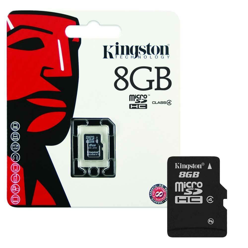Memory cards are used for storage, but there are different kinds and types of memory cards. NEW 8GB Kingston Micro SD SDHC Memory Card For Mobile Phone Camera Class 4 8GB | eBay