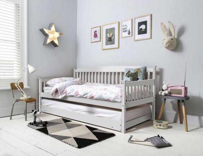Day Bed Single Isabella With Pull Out Trundle In Choice Of Colours