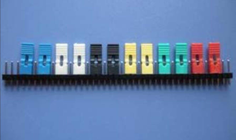 50pcs 2 54mm Standard Circuit Board Jumper Cap Shunts