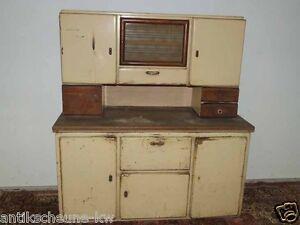 30er / 50er Jahre Küchenbuffet / Küchenhistorie / Küchenschrank eBay