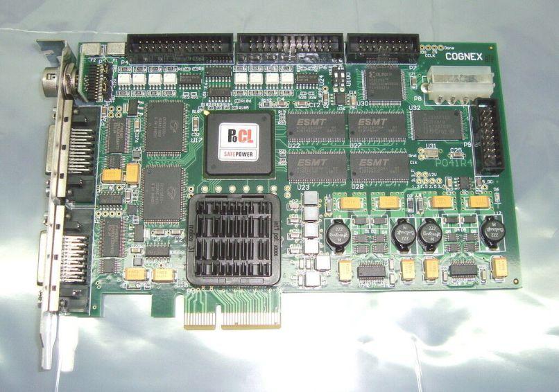 Cognex Mvs 8602e Cfg 001 Revc Opt H9 Camera Link Pci Express Frame Grabber