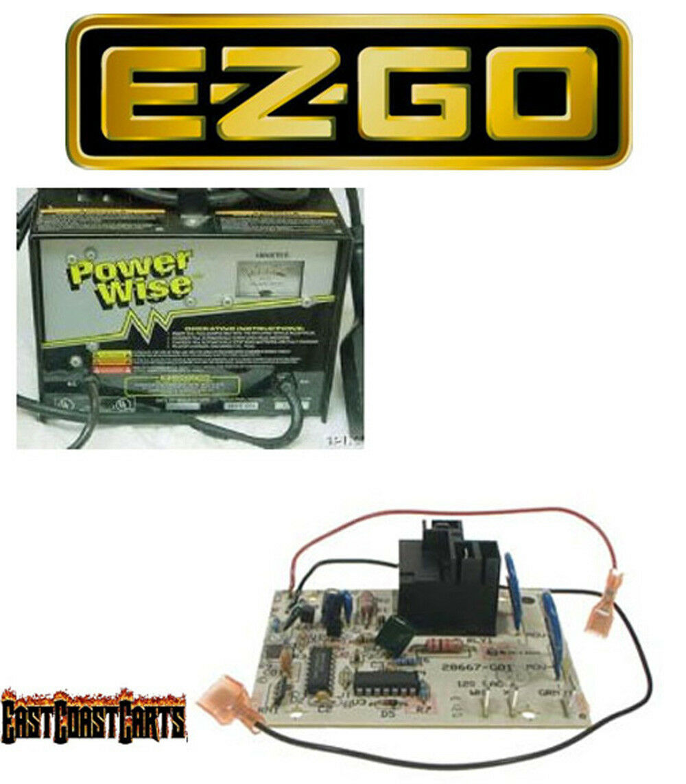 Ezgo 36v Powerwise Charger Control Timer Board New