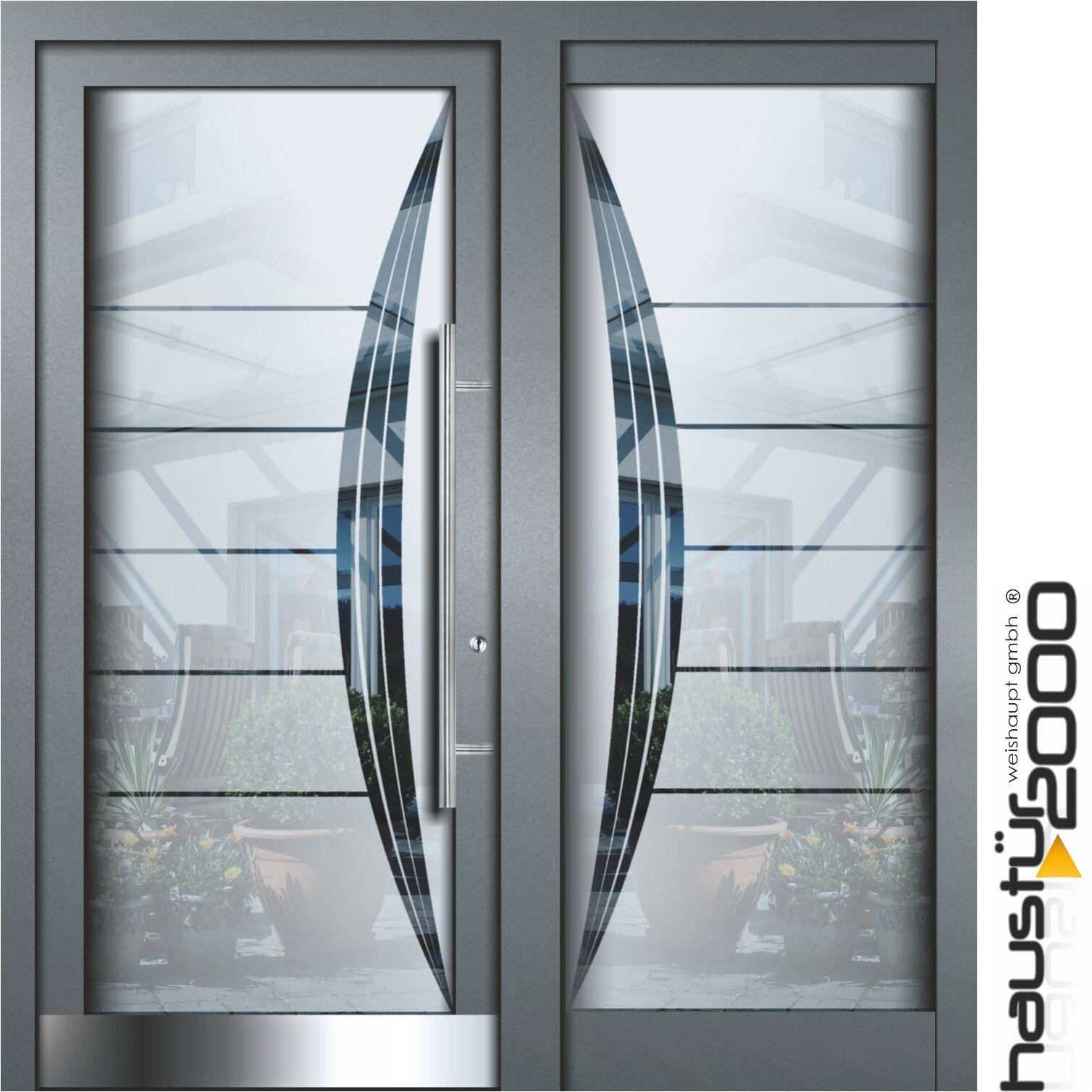 Haustur Aluminium Haustur Glas Tur Alu Hausturen Nach